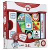 Игрушка для малыша Пластиковые кубики Magneticus Больница, купить за 185руб.