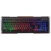 Клавиатура Oklick 710G BLACK DEATH черно-серая, купить за 915руб.
