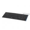 Клавиатуру Hama Anzano (R1050419) черная, купить за 860руб.