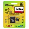 Mirex microSDHC Class 4 8GB (SD adapter), купить за 690руб.