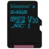 Карту памяти Kingston 64GB microSDXC (SDCG2/64GBSP), купить за 1660руб.