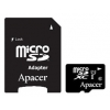 Карта памяти Apacer microSDXC Card Class 10, Черная, купить за 1 340руб.