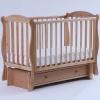 Детскую кроватку Кубаньлесстрой Кубаночка-6 БИ 42.3, натуральный бук, купить за 12 305руб.