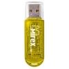Usb-флешка Mirex Elf, 8GB  Желтая, купить за 260руб.