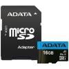Adata micro SDHC 16Gb Premier (AUSDH16GUICL10A1-RA1), купить за 470руб.