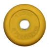Диск для штанги ProfiGym, d26 мм  (1,25кг) желтый, купить за 580руб.