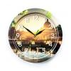 Часы интерьерные Вега Мост с арками, стекло (настенные), купить за 750руб.