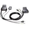KVM-переключатель D-Link KVM-221 (на 2 ПК, USB), купить за 1 890руб.