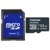 Toshiba SD-CX32UHS1(6A (microSDHC, 32Gb, U3, SD-адаптер), купить за 2 100руб.