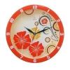 Часы интерьерные Вега Красные узоры, пластик (настенные), купить за 995руб.