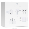 Зарядное устройство сетевое Apple World Travel Adapter Kit (MD837ZM/A), купить за 2620руб.
