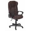 Компьютерное кресло TetChair Барон, коричневое, купить за 9 990руб.