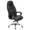 Кресло офисное TetChair BOSS люкс хром 36-6/36-6/06, черный-черный перфорированный, купить за 10 675руб.