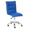 Кресло офисное TetChair ZERO кож/зам, синий, 36-39, купить за 4 690руб.