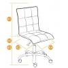 Кресло офисное TetChair  ZERO кож/зам, коричневoe, 36-36, купить за 4 690руб.