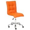 Кресло офисное TetChair  ZERO кож/зам, оранжевое, 14-43, купить за 4 690руб.