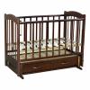 Детская кроватка Ведрусс Радуга-4, вишня, купить за 5 990руб.