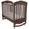Детская кроватка Гандылян Шарлотта Люкс К-2003-2 (качалка), орех, купить за 16 590руб.