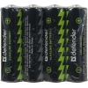 Батарейка Defender LR6-4B 4PCS 56012 alkaline 4 шт AA, купить за 330руб.