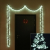 Новогоднее украшение Гирлянда Торг-Хаус LED Звёздочки белые, 450 светодиодов (LED-MST-450/W), купить за 2 990руб.