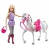 Кукла Barbie DHB68 Барби и лошадь (набор), купить за 2 645руб.