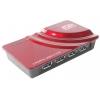USB концентратор AgeStar 3U(B)H1 красный, купить за 1 745руб.