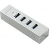 USB концентратор Orico ASH4-U3-SV 4-Port серебристый, купить за 1 685руб.