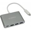 USB концентратор Orico RC3A-SG серый, купить за 3 095руб.