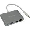 USB концентратор Orico RCR2A-SG серый, купить за 3 910руб.