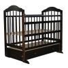 Детская кроватка Briciola 11, темная, купить за 7 755руб.