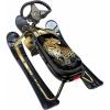 Снегокат Ника Детям Кросс с леопардом, золотистый каркас, купить за 2169руб.