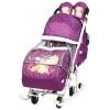 Санки-коляску Nika Disney baby 2 Медвежонок Винни, баклажановые, купить за 5500руб.