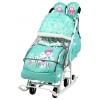 Санки-коляску Nika Disney baby 2 Минни Маус, мятные, купить за 5500руб.