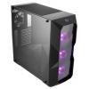 Корпус компьютерный Cooler Master MasterBox TD500 (MCB-D500D-KANN-S00), черный, купить за 4970руб.