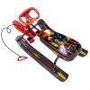 Снегокат Nika Тимка спорт 1 Робот, бордовый каркас, купить за 1800руб.