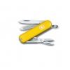 Victorinox  Classic SD, 58 мм, 7 функций, жёлтый, купить за 920руб.