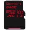 Карта памяти Kingston SDCR/64GBSP 64Gb, купить за 1 685руб.