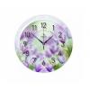 Часы интерьерные Вега Фиолетовые цветы, П 1-248/7-248, купить за 875руб.