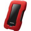 Adata AHD330-1TU31-CRD 1Tb, красный, купить за 3 920руб.