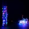 Новогоднее украшение Торг-Хаус LED Паутинка (разноцветная переливающаяся, 100 RGB минисветодиодов, 10 м), купить за 1 035руб.