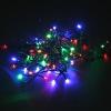 Новогоднее украшение Гирлянда Торг-Хаус LED  SN-D007/50L (50 разноцветных диодов, 4 м), купить за 145руб.