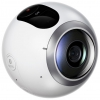 Видеокамера Samsung Gear 360 SM-C200, белая, купить за 13 755руб.