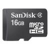 Sandisk microSDHC 16 Gb Class4 + Mobile w/o adapter, купить за 540руб.