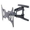 Кронштейн Tuarex OLIMP-8001 (15-55'', до 45 кг, наклон, поворот), чёрный, купить за 2 470руб.