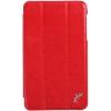 Чехол для планшета G-case Slim Premium для Samsung Galaxy Tab A 7.0, красный, купить за 890руб.