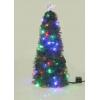 Новогодняя елка Торг-хаус с разноцветными светодиодами с контроллером, 62см, купить за 1 160руб.