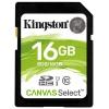 Карту памяти Kingston SDS/16GB SDHC Flash Card 16Gb UHS-I U1, купить за 645руб.