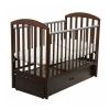Детская кроватка Papaloni Джованни, шоколад, купить за 13 390руб.