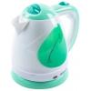 Чайник электрический Endever Skyline KR-349, белый-зеленый, купить за 590руб.