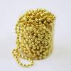 Новогоднее украшение Ели Peneri (4мм/10м) JNP140623, бусы золотистые, купить за 135руб.